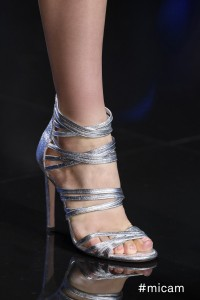 good vibes passerella scarpa argento