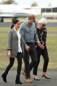 Harry e Meghan in look premaman