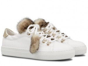 sneaker pelliccia