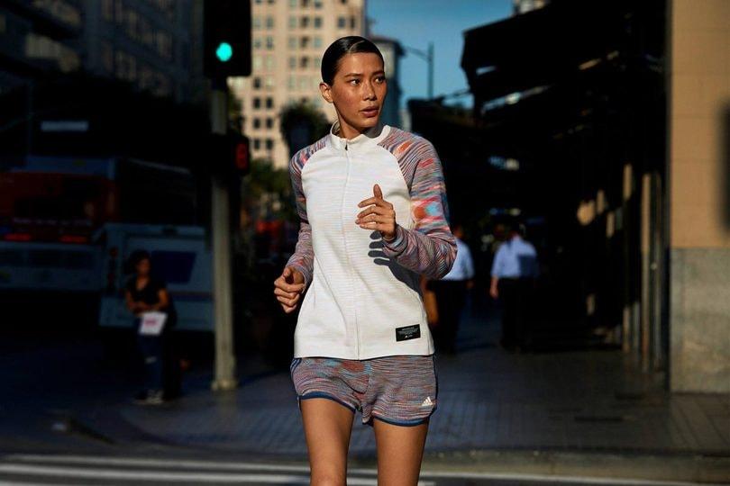 Completo running donna Adidas Missoni