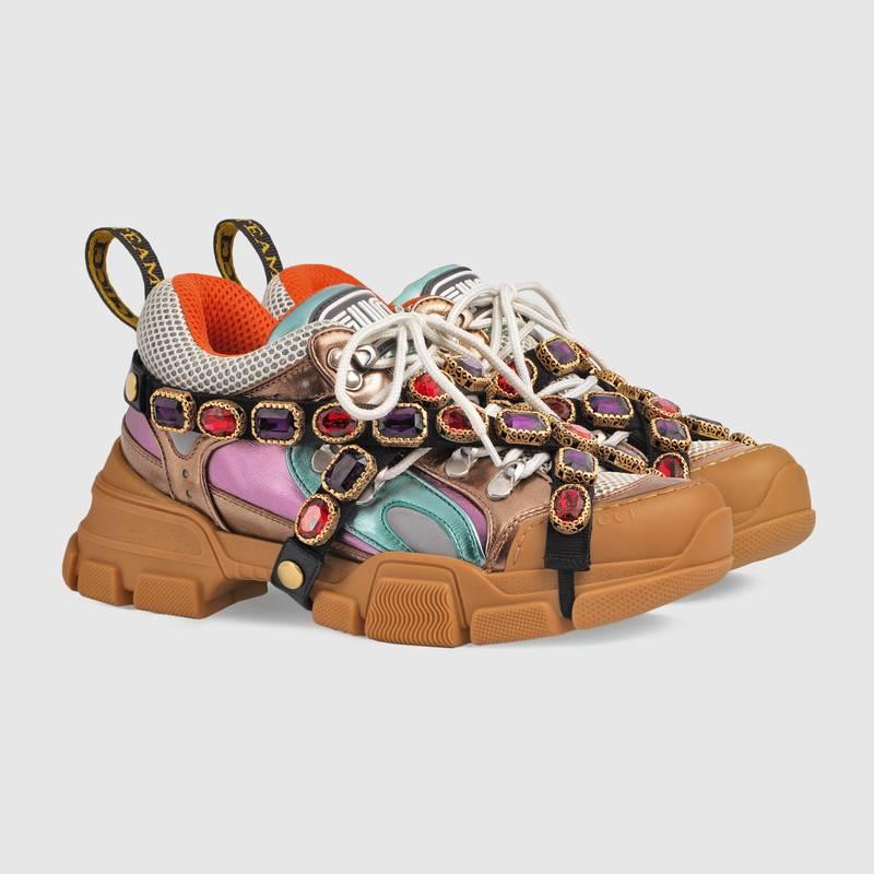 Gucci sneakers preziosi rimovibili
