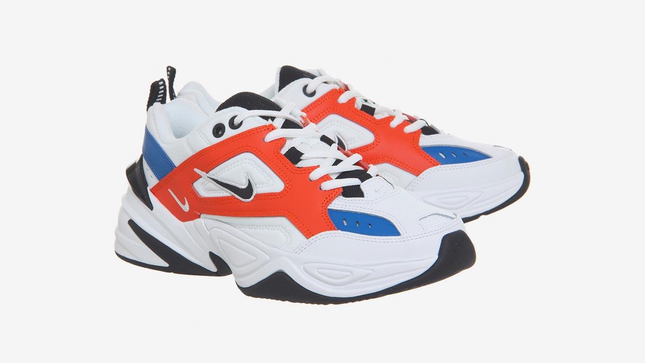 Nike M2K Tekno arancioni