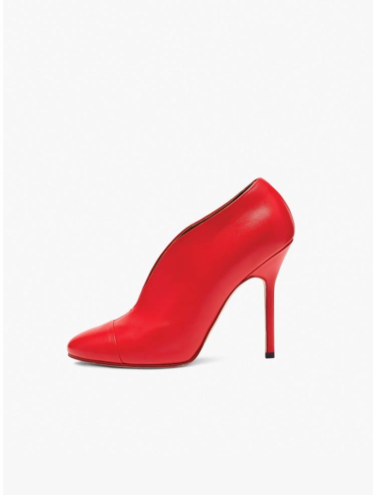decolleté rosse Victoria Beckham