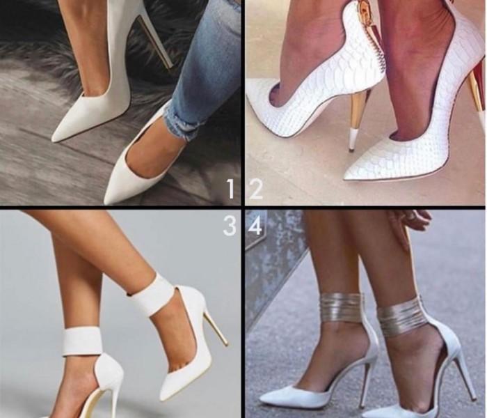 Le nuove tendenze in arrivo: White shoes, il bianco brillante che va con tutto
