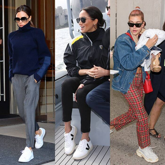 Celebrities con le sneakers