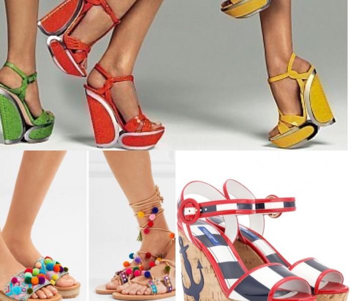 Scarpe, moda e bellezza: gioca con le stampe