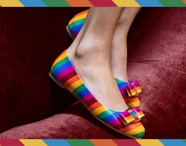 Il potere dell'arcobaleno che contagia moda e arte