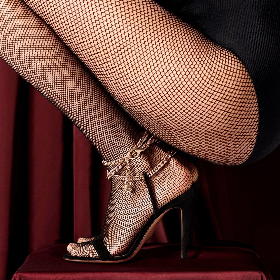Gianvito Rossi scarpe con cinturino intrecciato alla caviglia