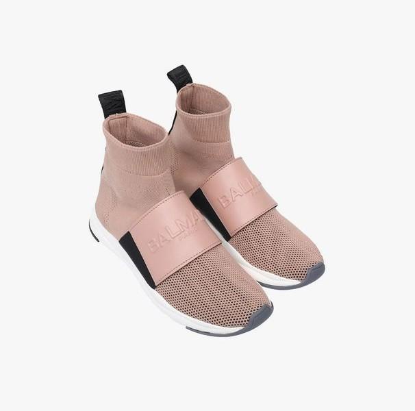 Balmain, arriva la prima collezione di sneakers