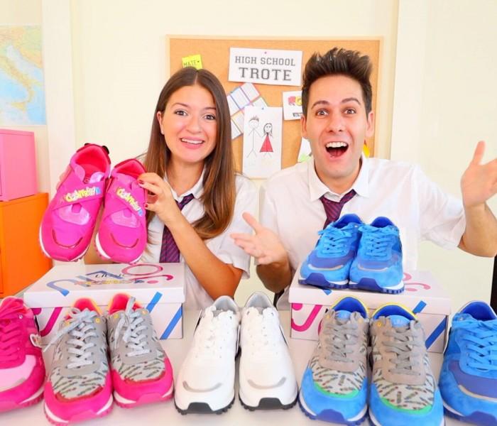 """Liu Jo: per le calzature kids una nuova collaborazione  col duo di youtuber """"Me contro Te"""""""