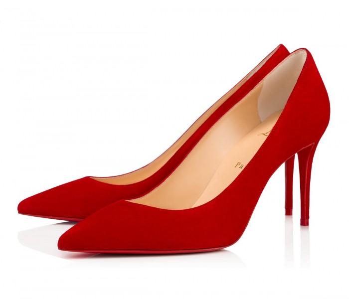 Rosso e cristalli: le calzature protagoniste dell'autunno-inverno 2019/2020