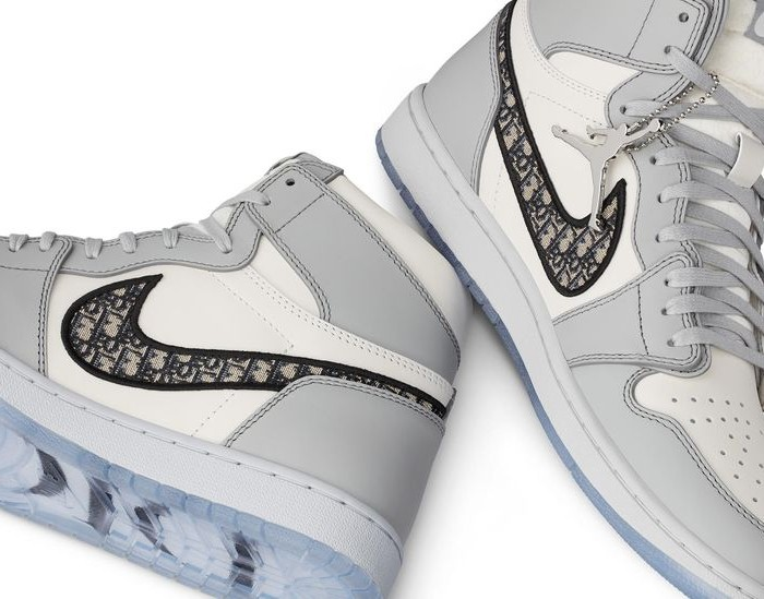Ecco le sneakers Dior X Air Jordan svelate in anteprima a Miami!