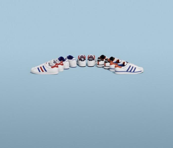 Adidas Superstar compie 50 anni. Ecco i modelli della nuova campagna Change is a Team
